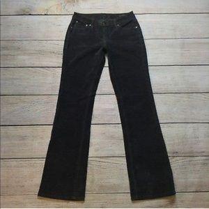 jag low rise boot leg corduroy jeans